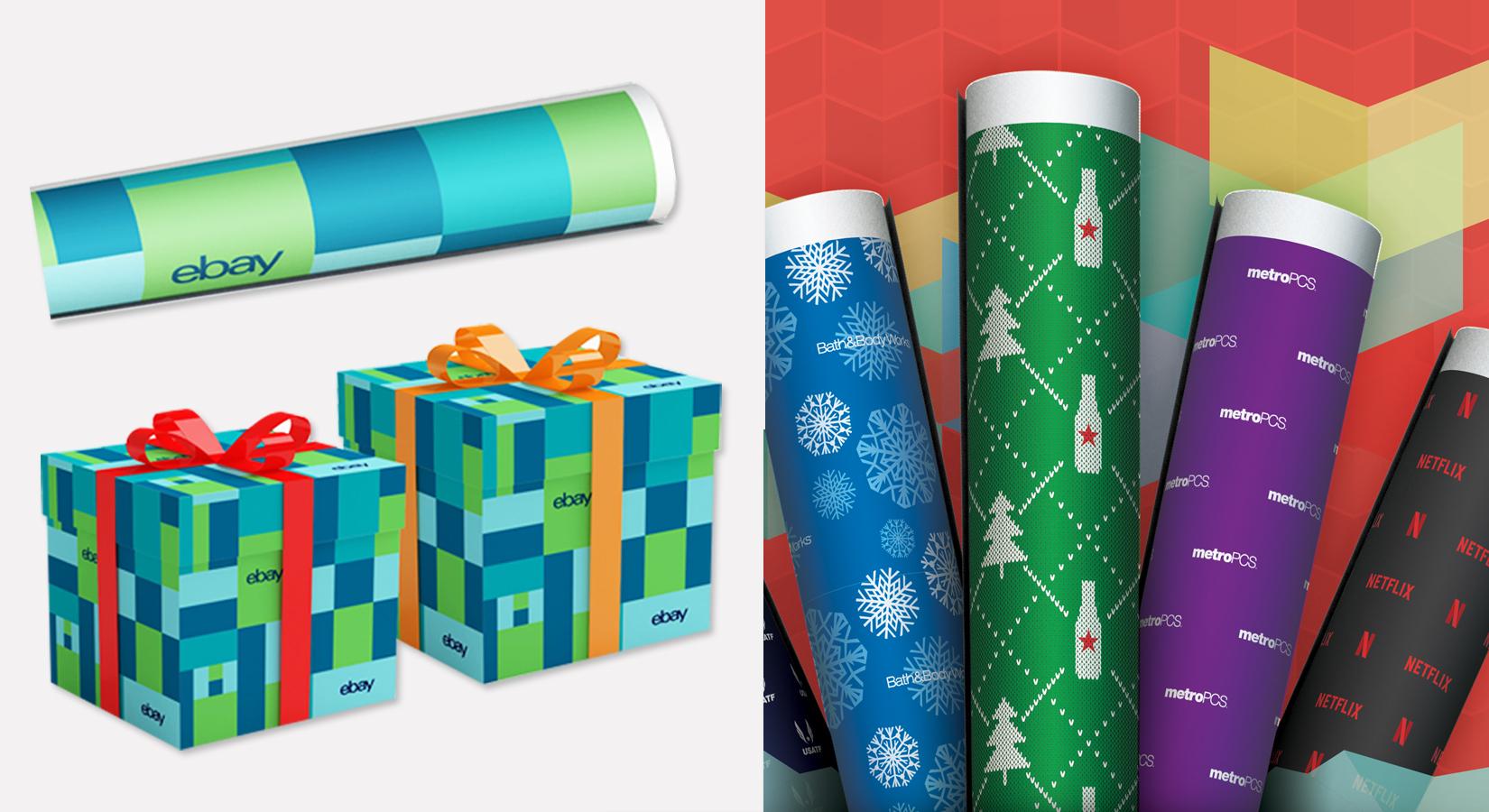 Custom Gift Wrap