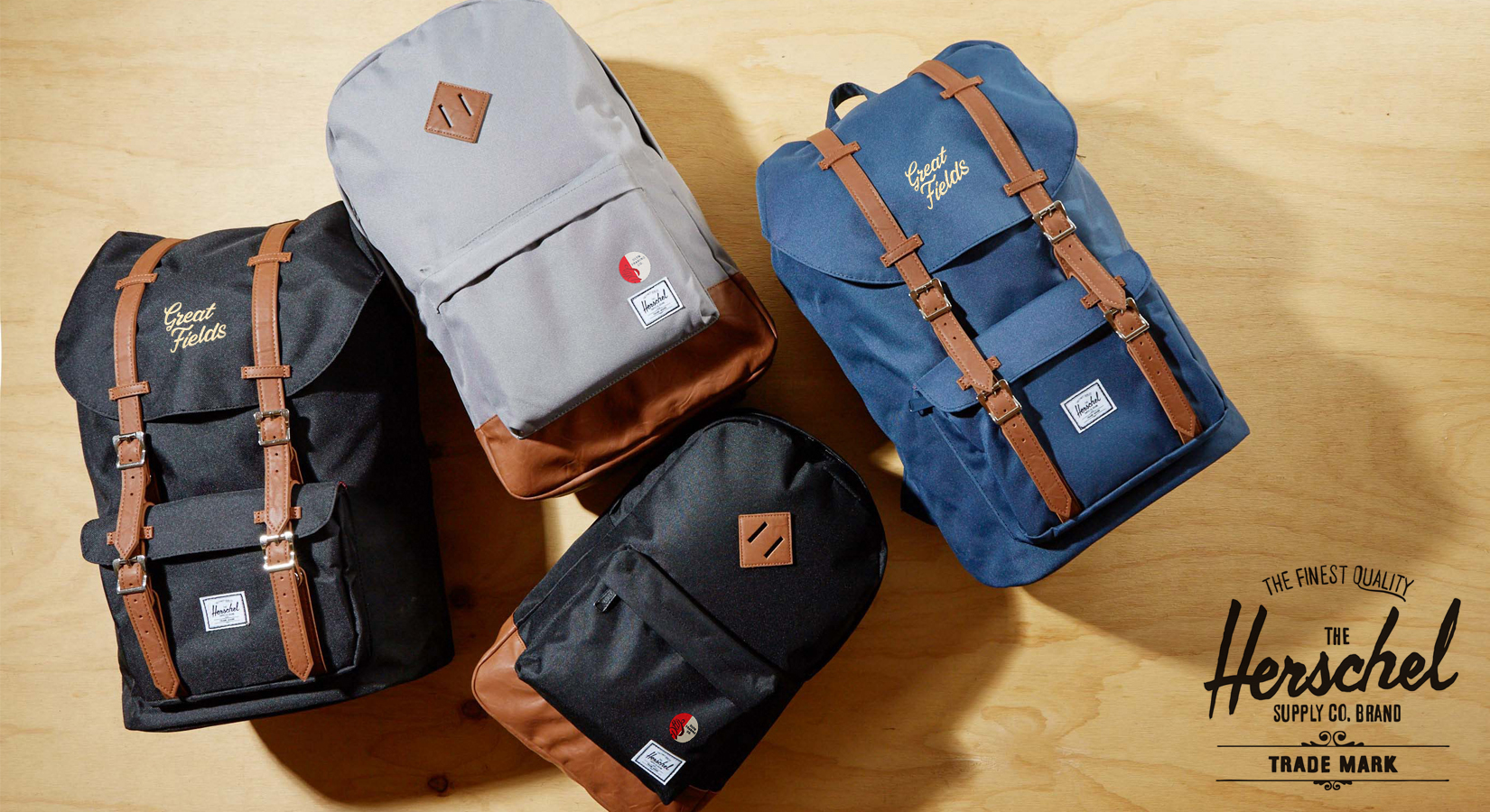 Herschel Supply is HERE! Backpacks & Duffel Bags Can Now Be Decorated With Your Logo!