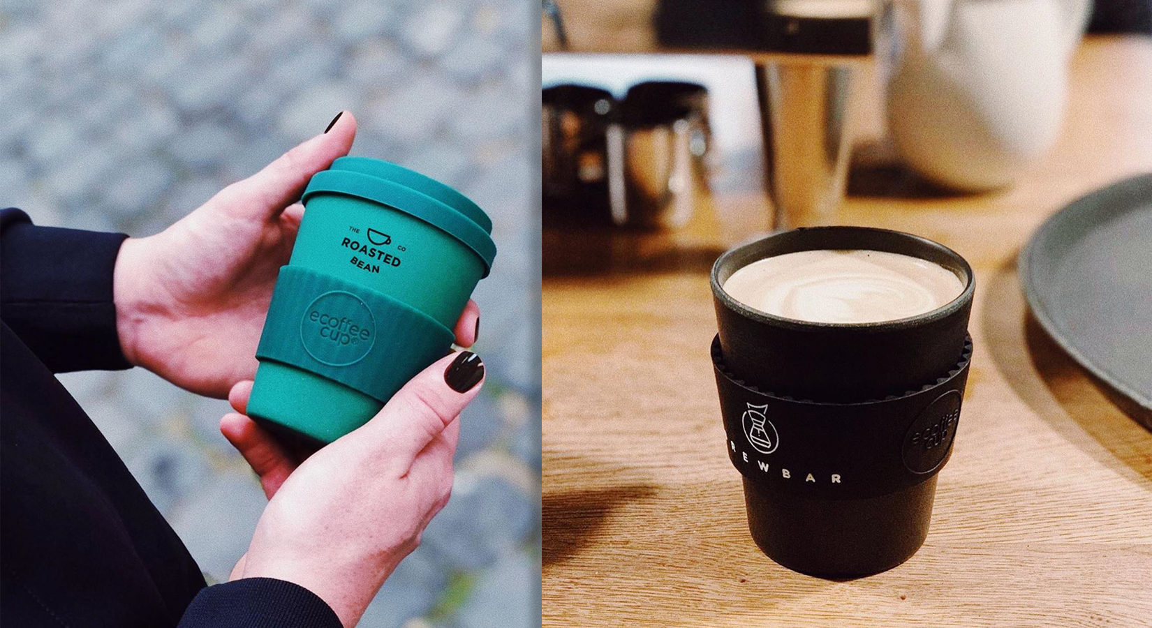 Custom Printed Ecoffee Cups – As Seen On Oprah's Favorite Things List for 2019!