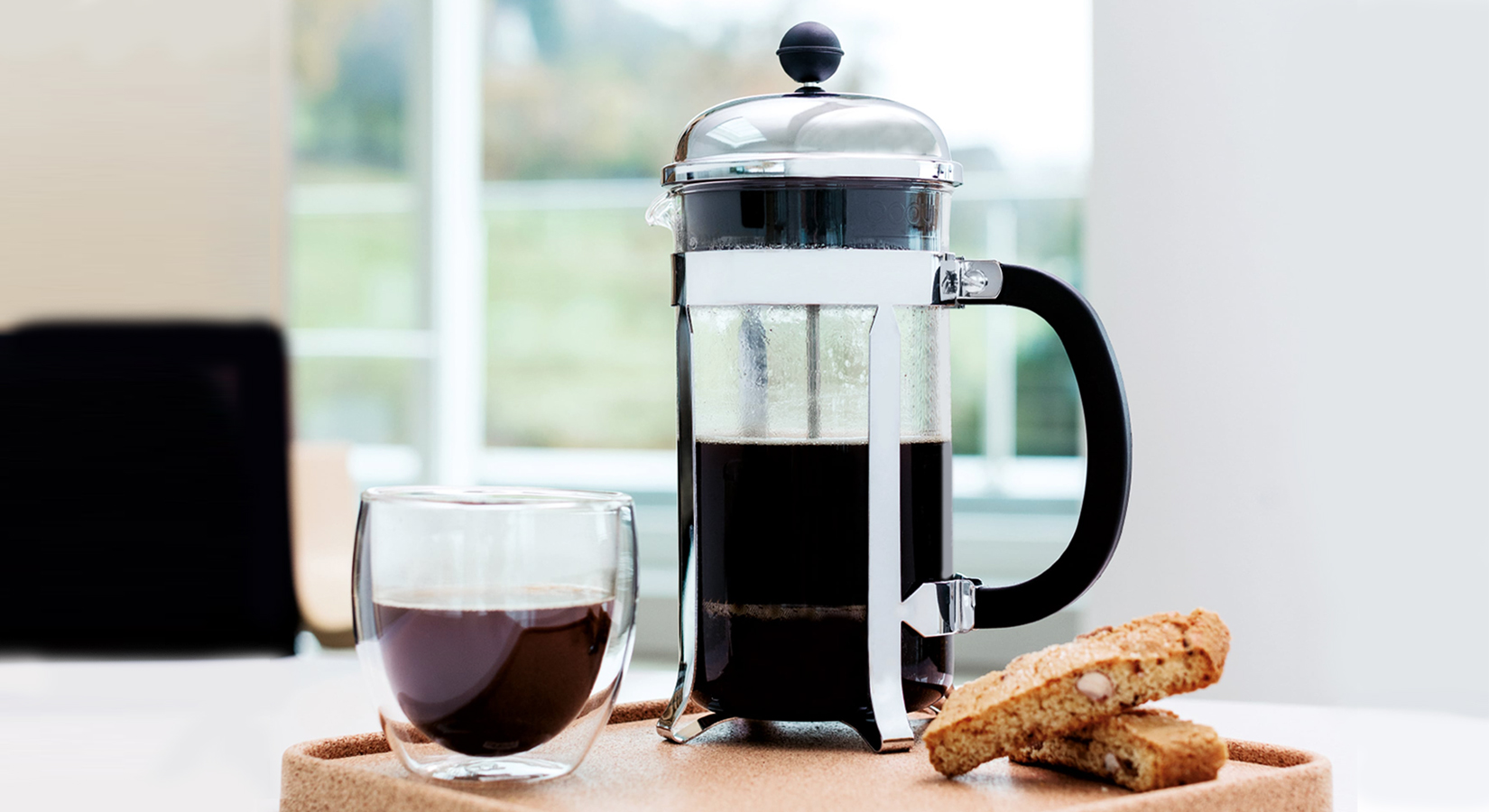 #25DaysOfGifting: Day 11 – Modena Coffee Press & Glass Set