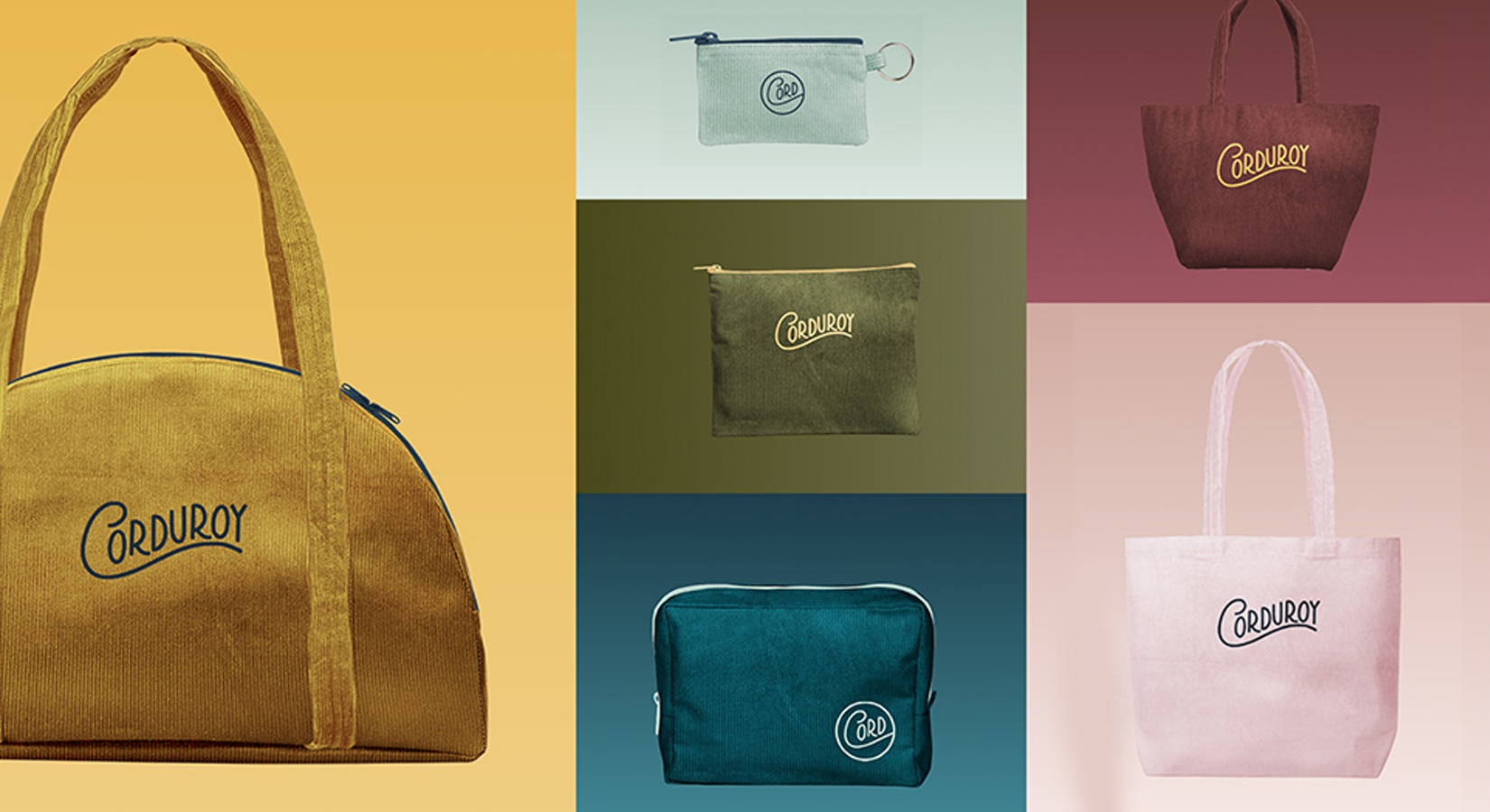 *JUST RELEASED* – Corduroy Totes, Pouches & Accessories
