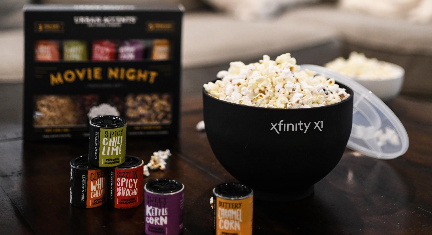 #25DaysOfGifting: Day 4 – Movie Night Gourmet Popcorn Gift Set