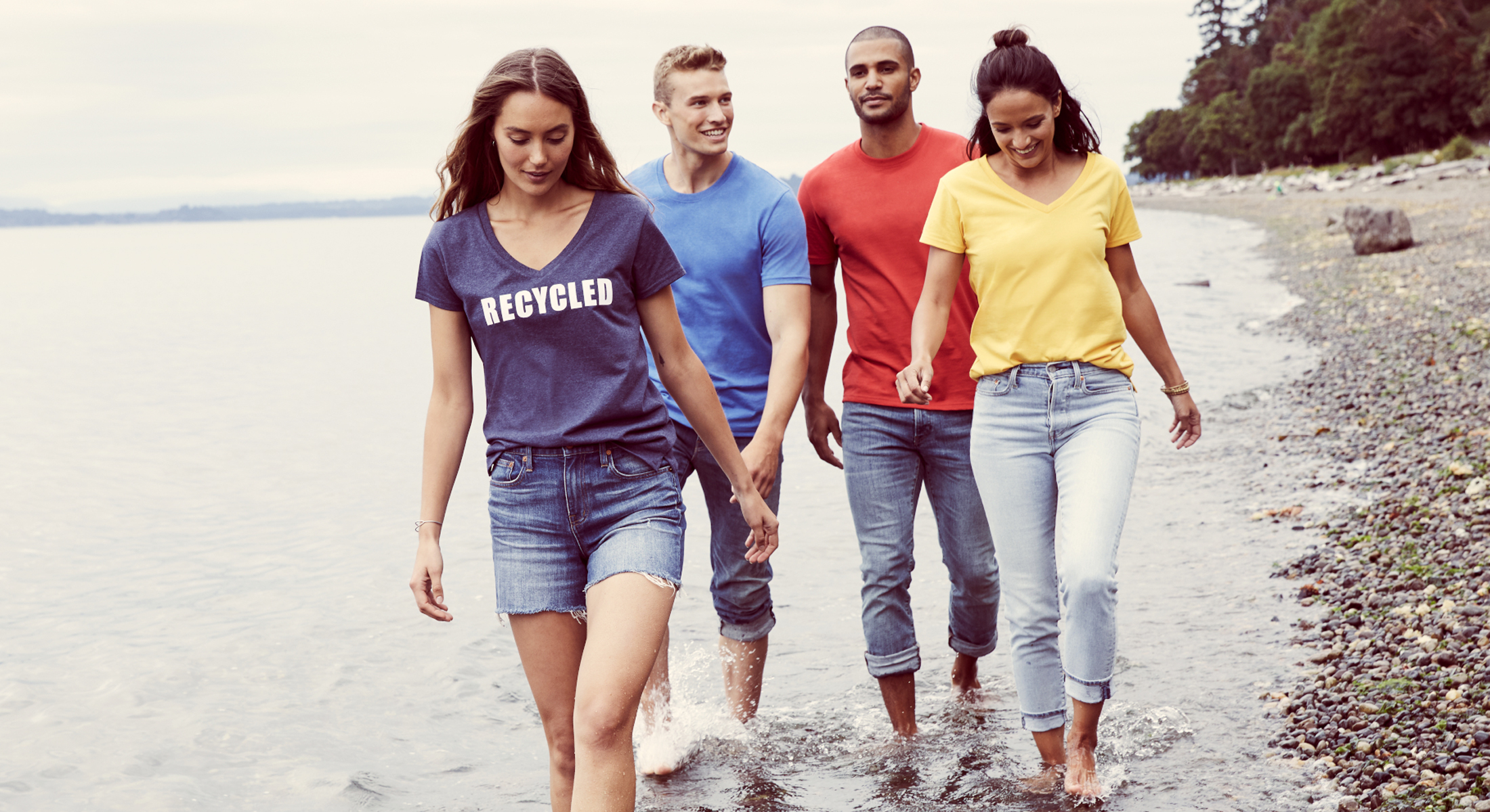 Introducing: The District ® Re-Tee™ – T-Shirts Made Out Of Recycled Water Bottles!