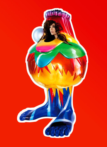 Björk, Volta, 2007 Credit: Photography by Nick Knight. Image courtesy of Wellhart Ltd & One Little Indian