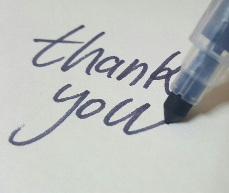 "THE UNDERAPPRECIATED ART OF SAYING ""THANK YOU"""