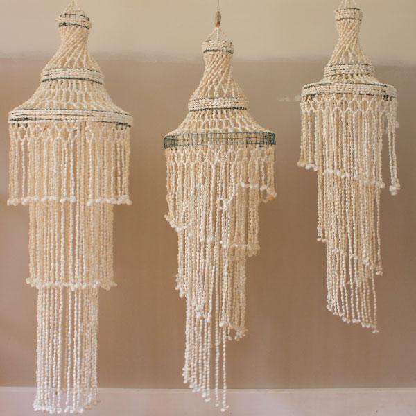 shell-chandeleier