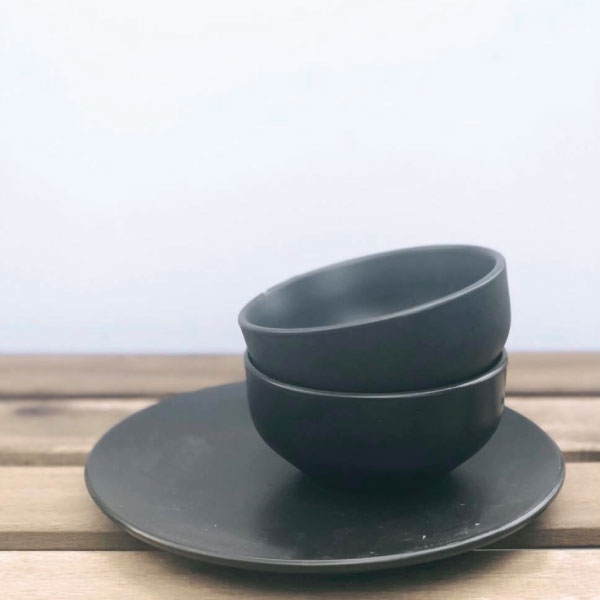 black-bowls
