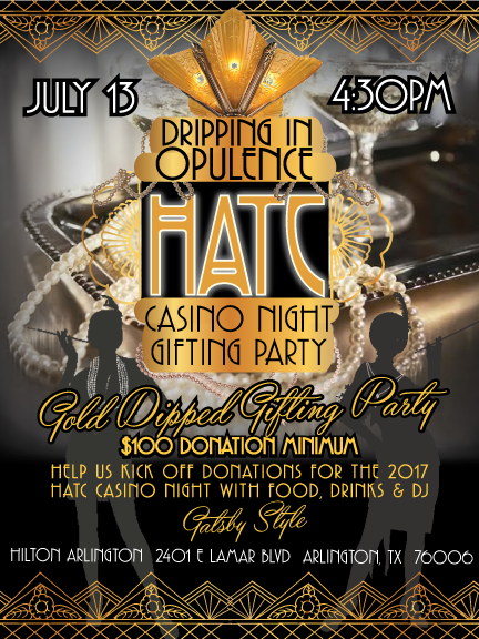 HATC Dripping in Opulence Casino Night Gifting Party