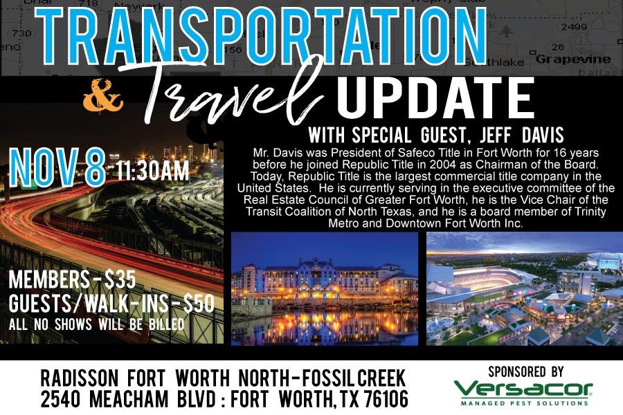 Transportation & Travel Update
