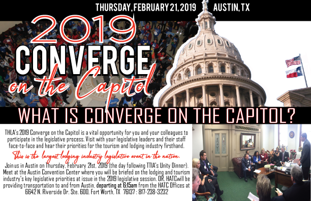 Ride the Bus to Converge on the Capitol