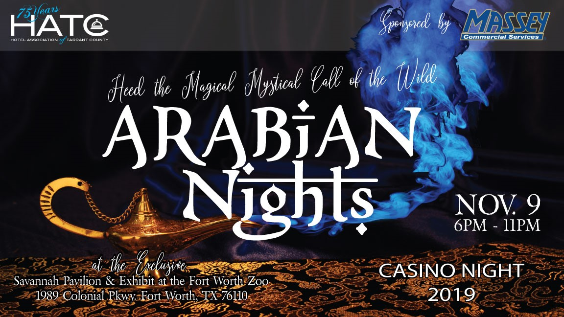 ARABIAN NIGHTS – 2019 HATC CASINO NIGHT
