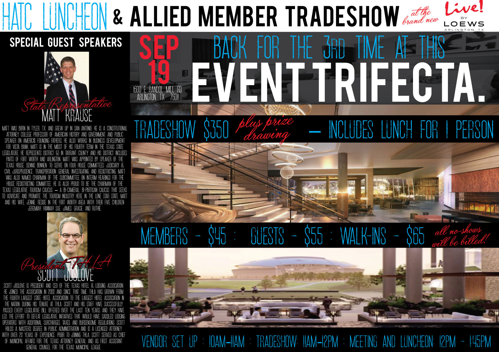 HATC Luncheon & Allied Member Tradeshow