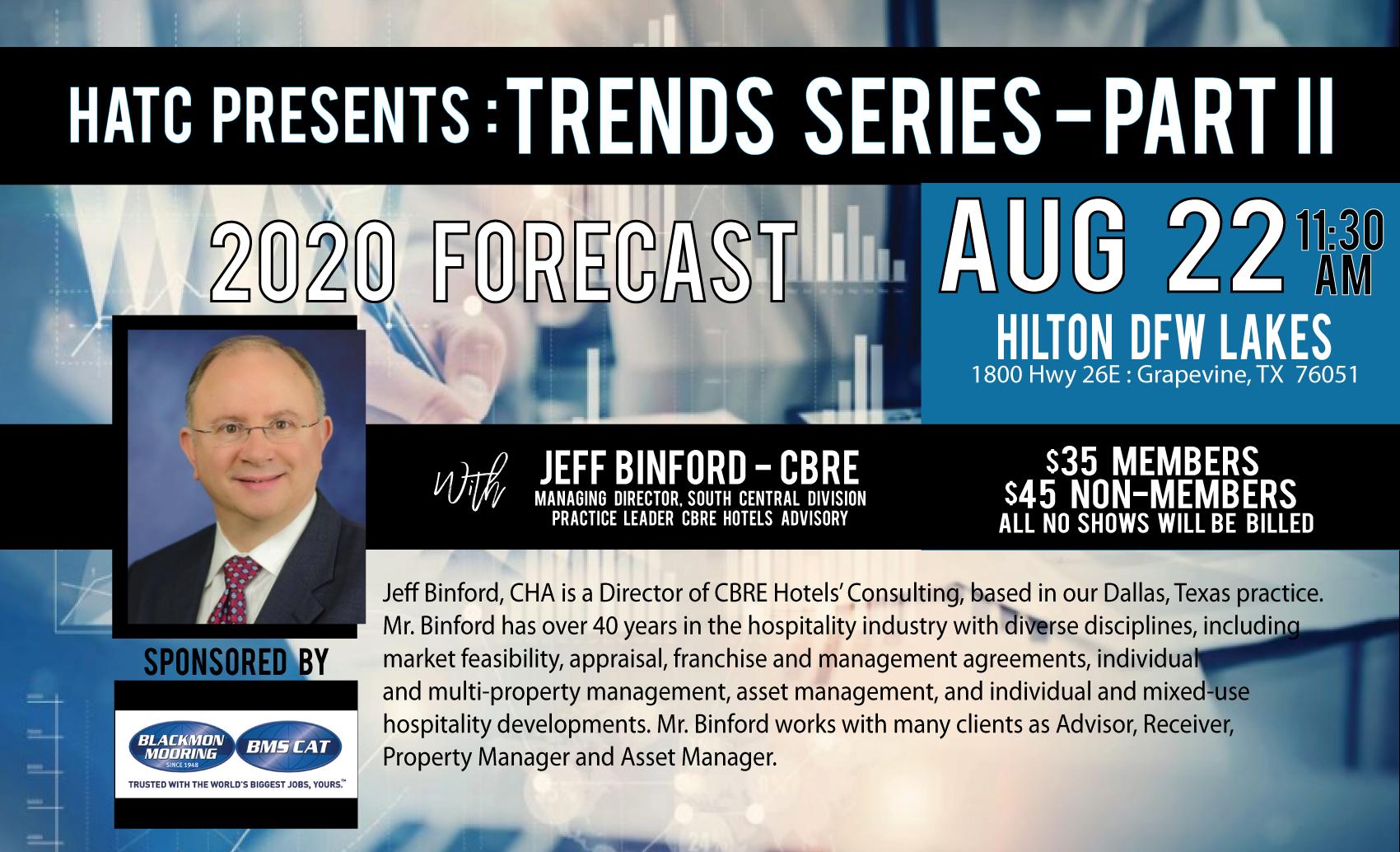 HATC August 2020 Trends Part II Meeting & Luncheon