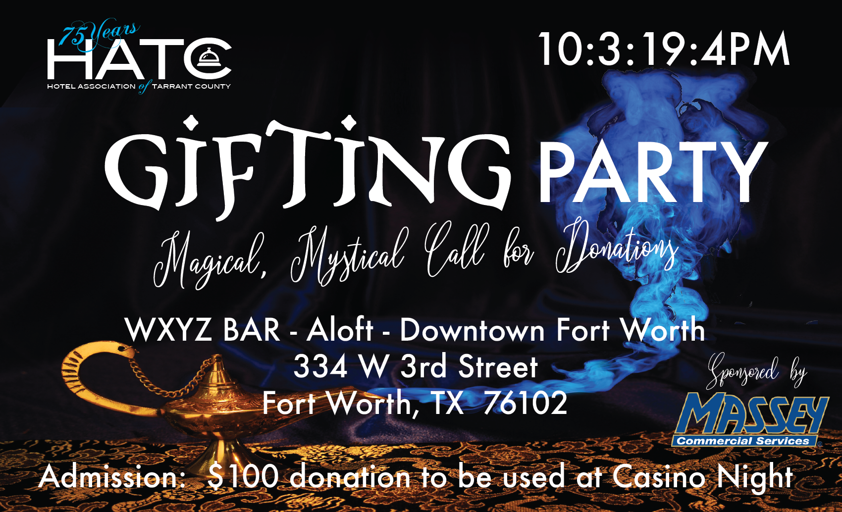 HATC Casino Arabian Nights Gifting Party 2019
