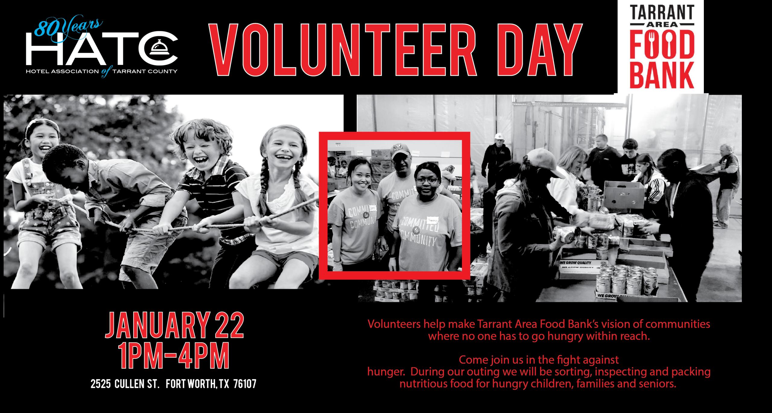 HATC Tarrant Area Food Bank Volunteer Day