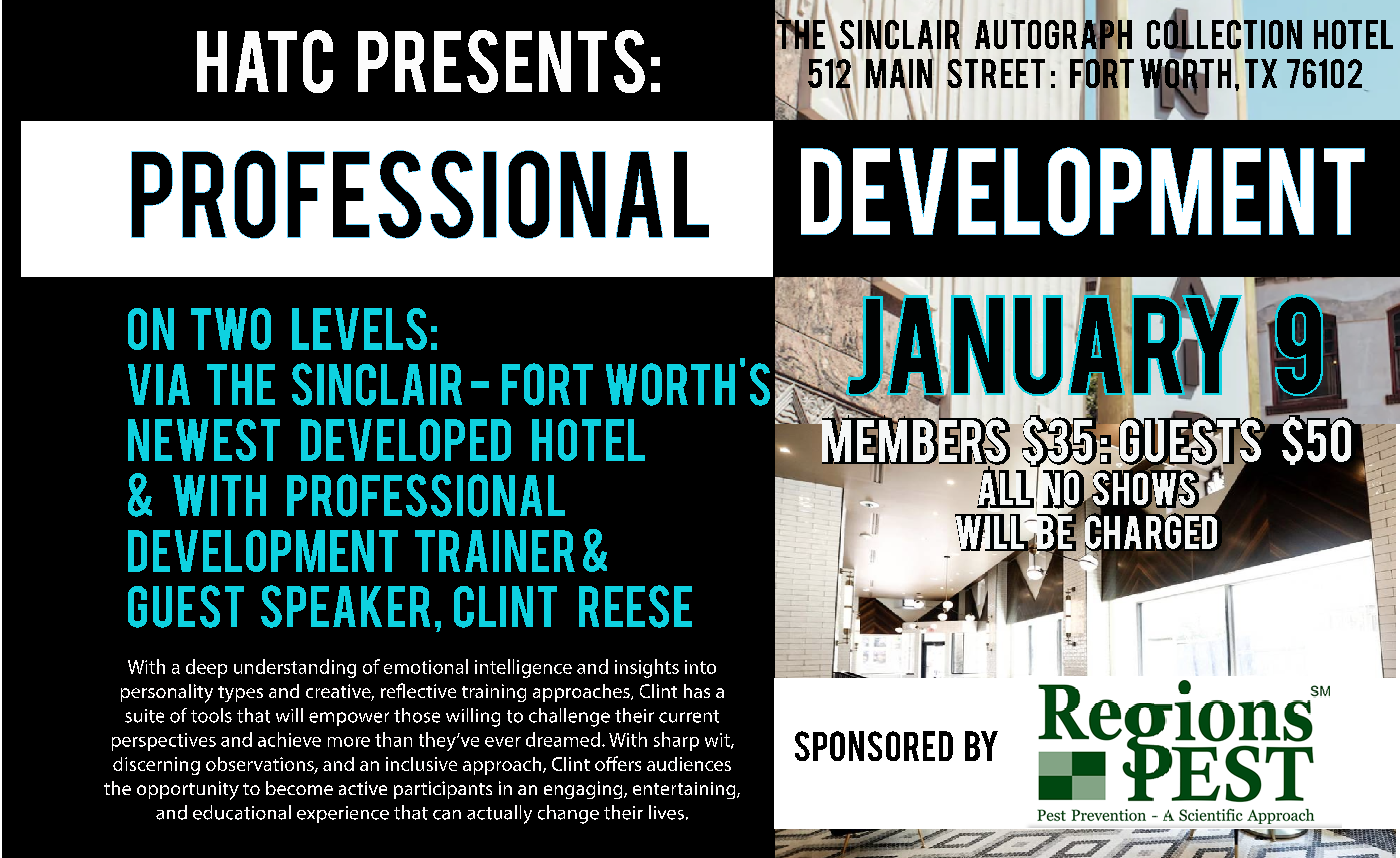 HATC Professional Development Luncheon January 2020