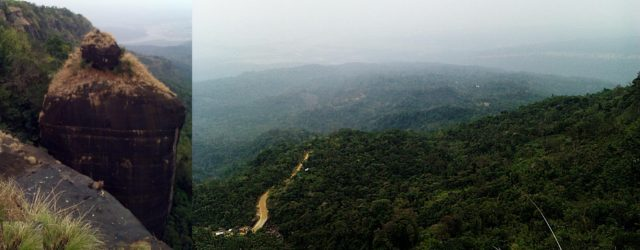 Natural Shivling Cherapunji Meghalaya