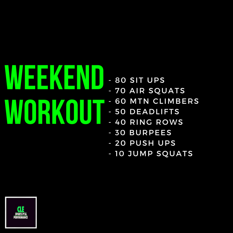 Weekend Workout March 16