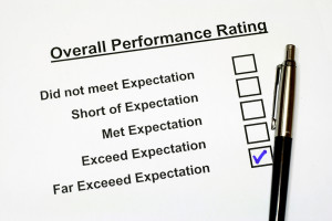 Overall Performance Rating Form 3