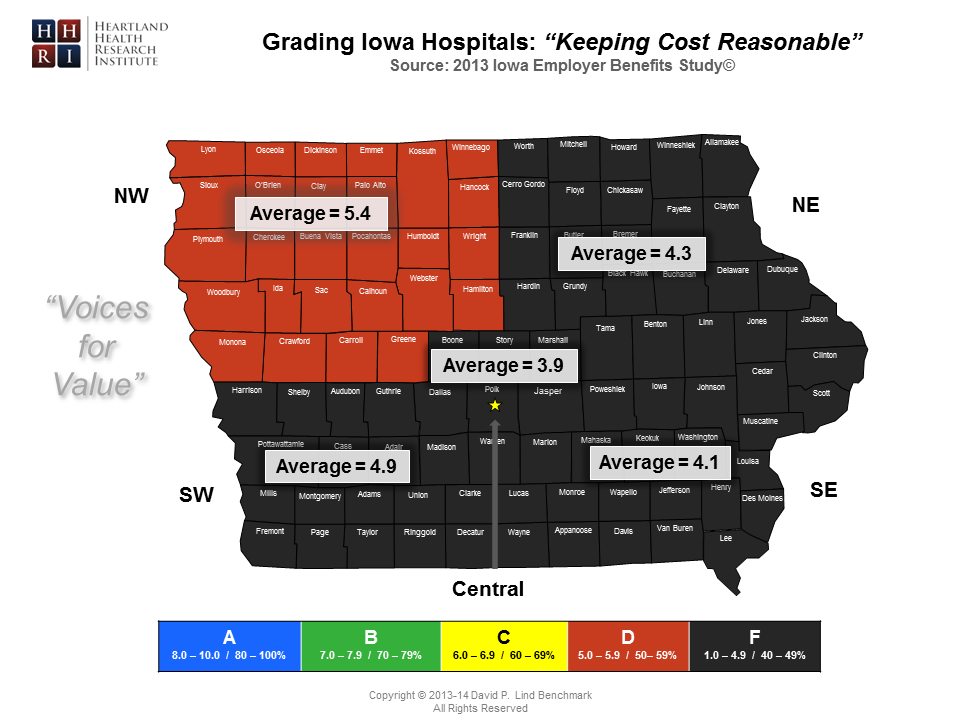Regional - Keeping Cost Reasonable Map-Master