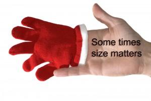 Sometimes Size Matters