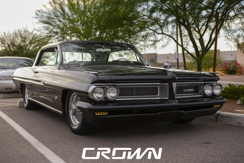 Classic car at topgolf tucson