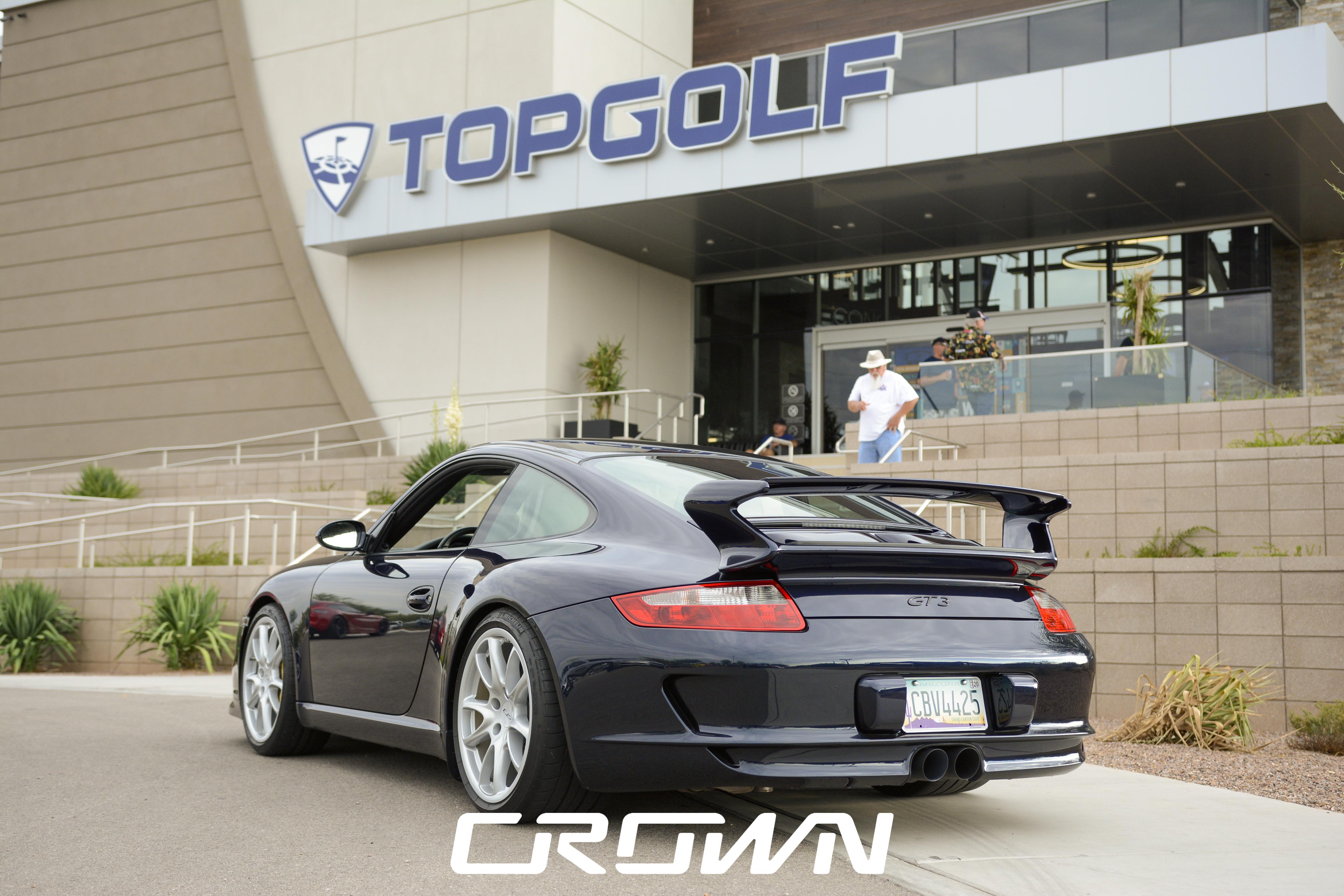 Porsche 911 GT3 at TopGolf Tucson
