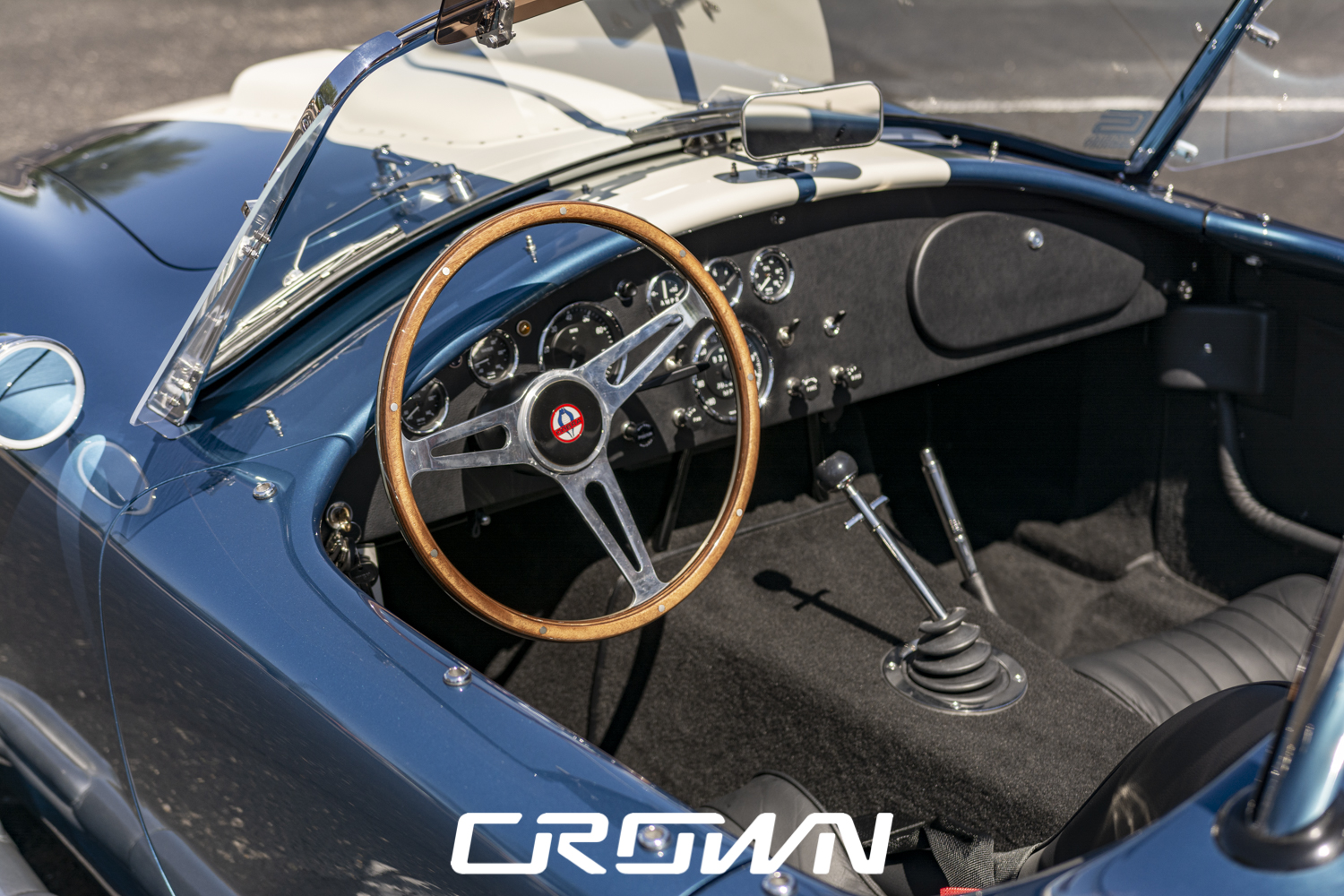 Completed interior Crown Concepts Cobra MKIII