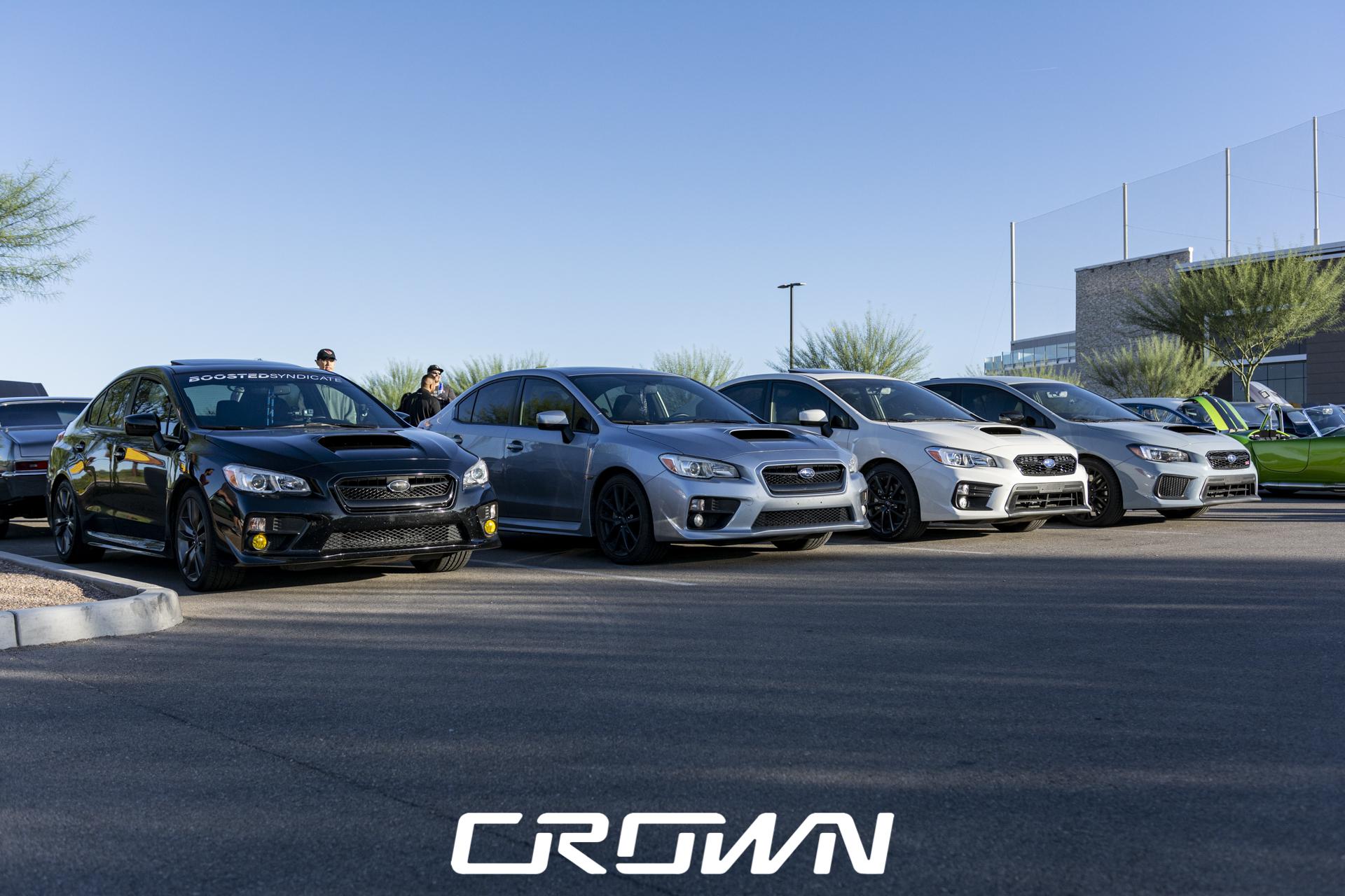 Subaru cars at TopGolf Tucson