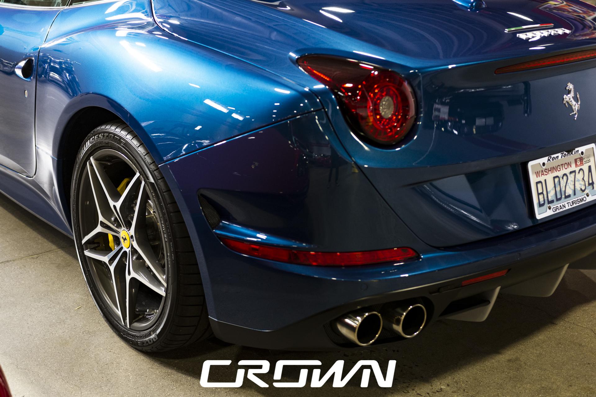 2015 Ferrari California T driver rear quarter