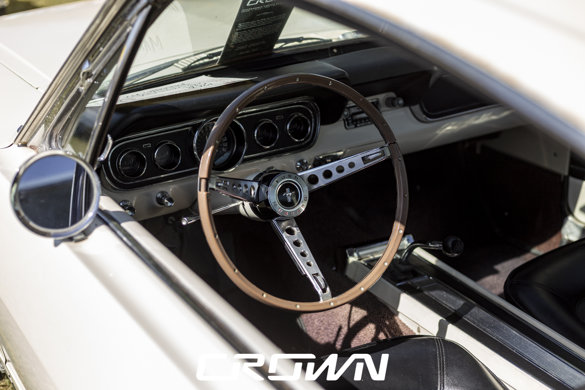 dash interior 1965 Ford Mustang GT