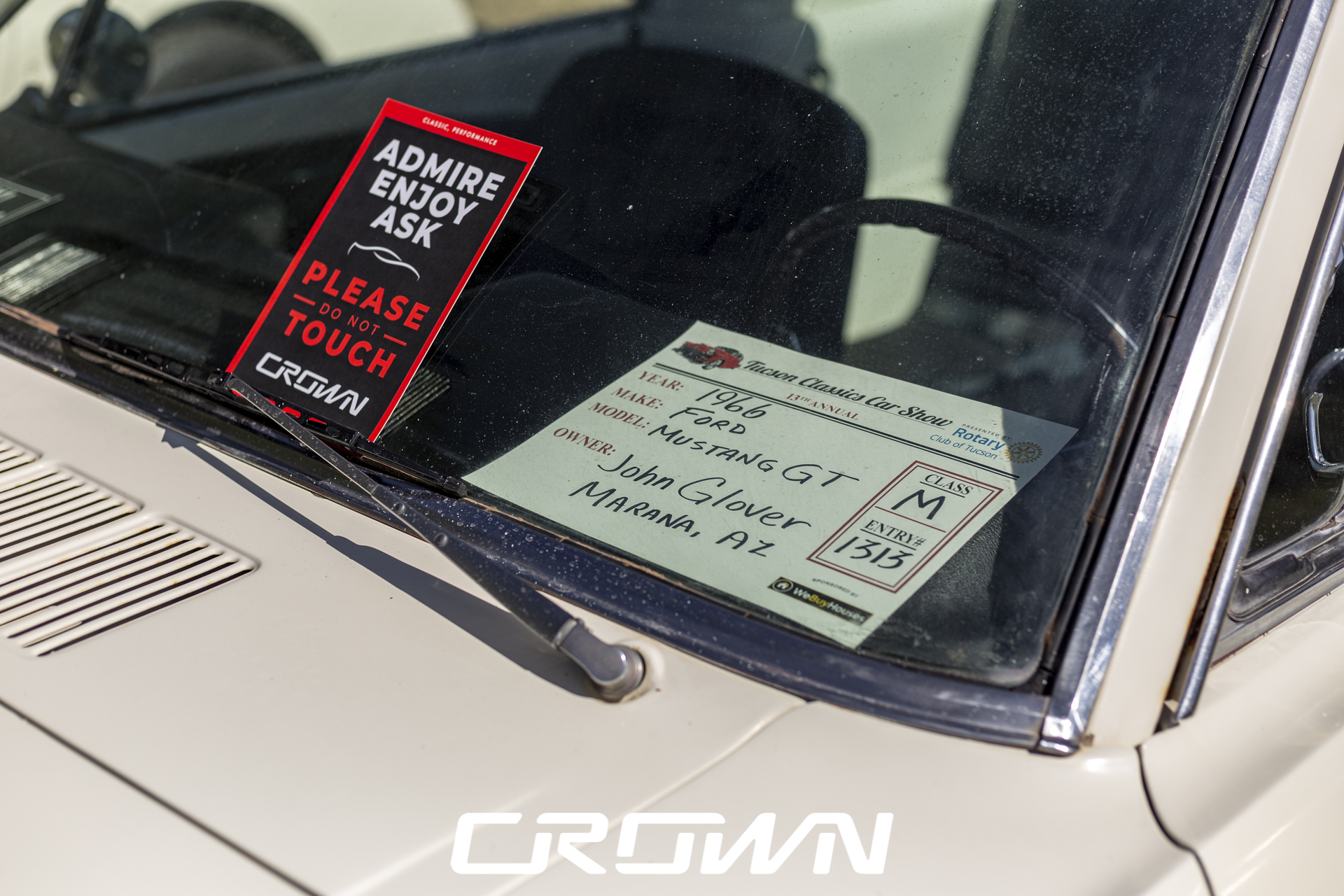 Crown Concepts 1965 Ford Mustang GT Fastback at Tucson Classics Car Show