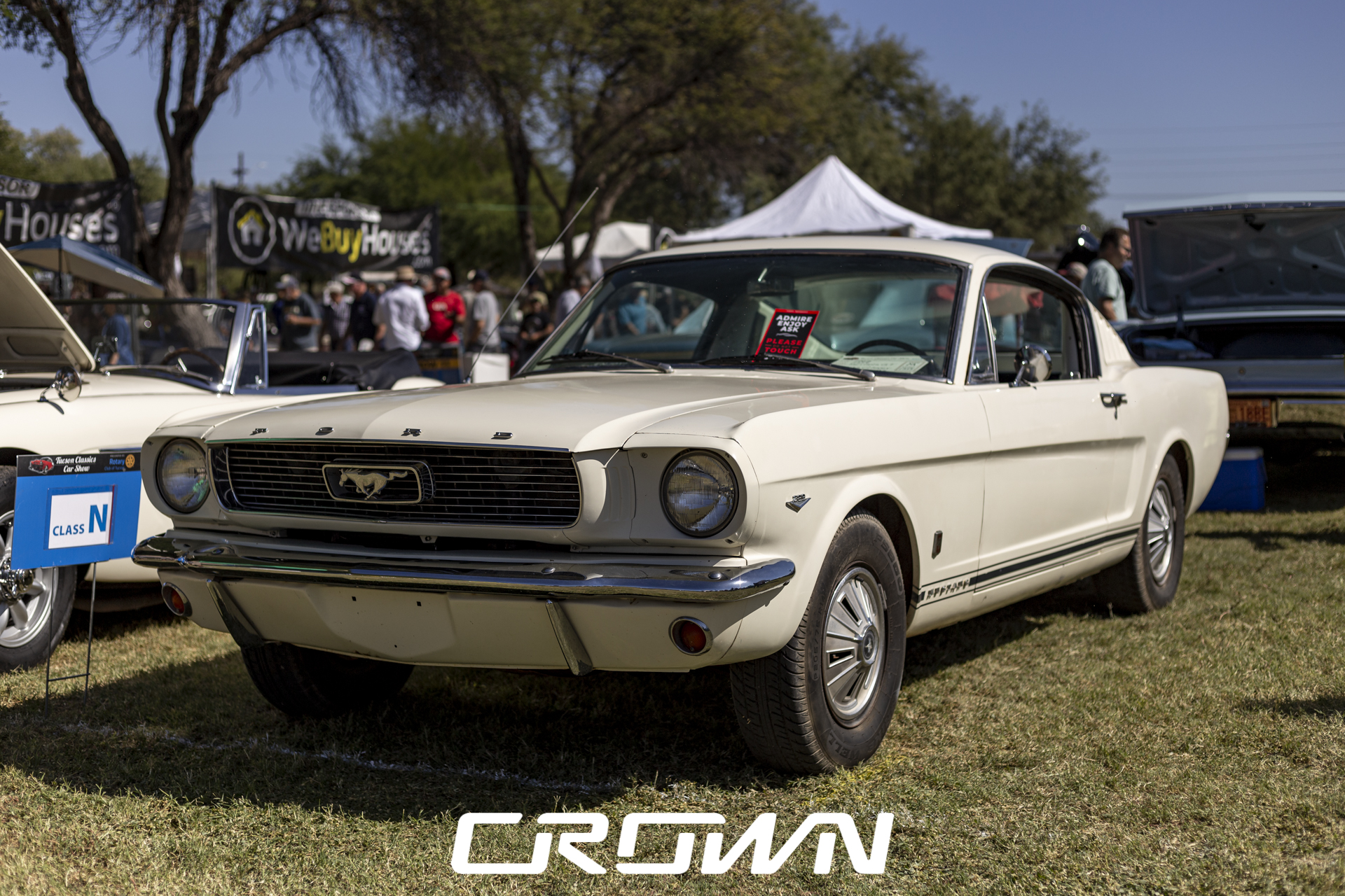 1965 Ford Mustang GT Fastback at Tucson Classics Car Show