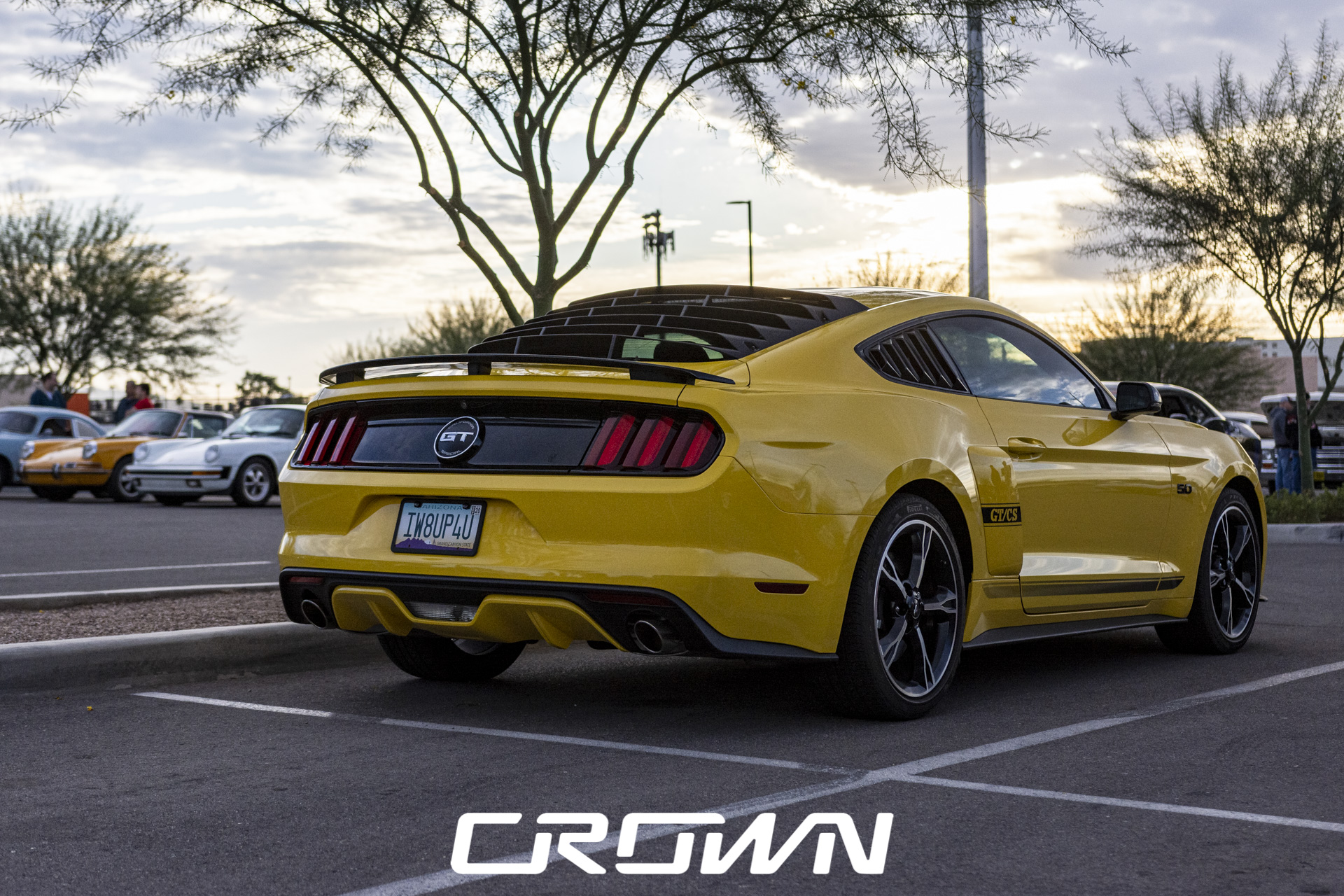 s550 Ford Mustang gt cs yellow tucson arizona