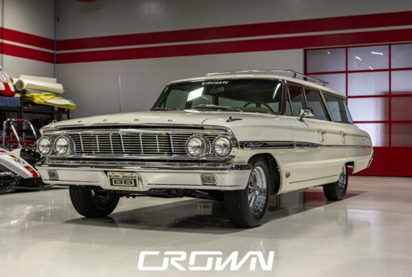 1964 Ford Country Sedan Wagon White