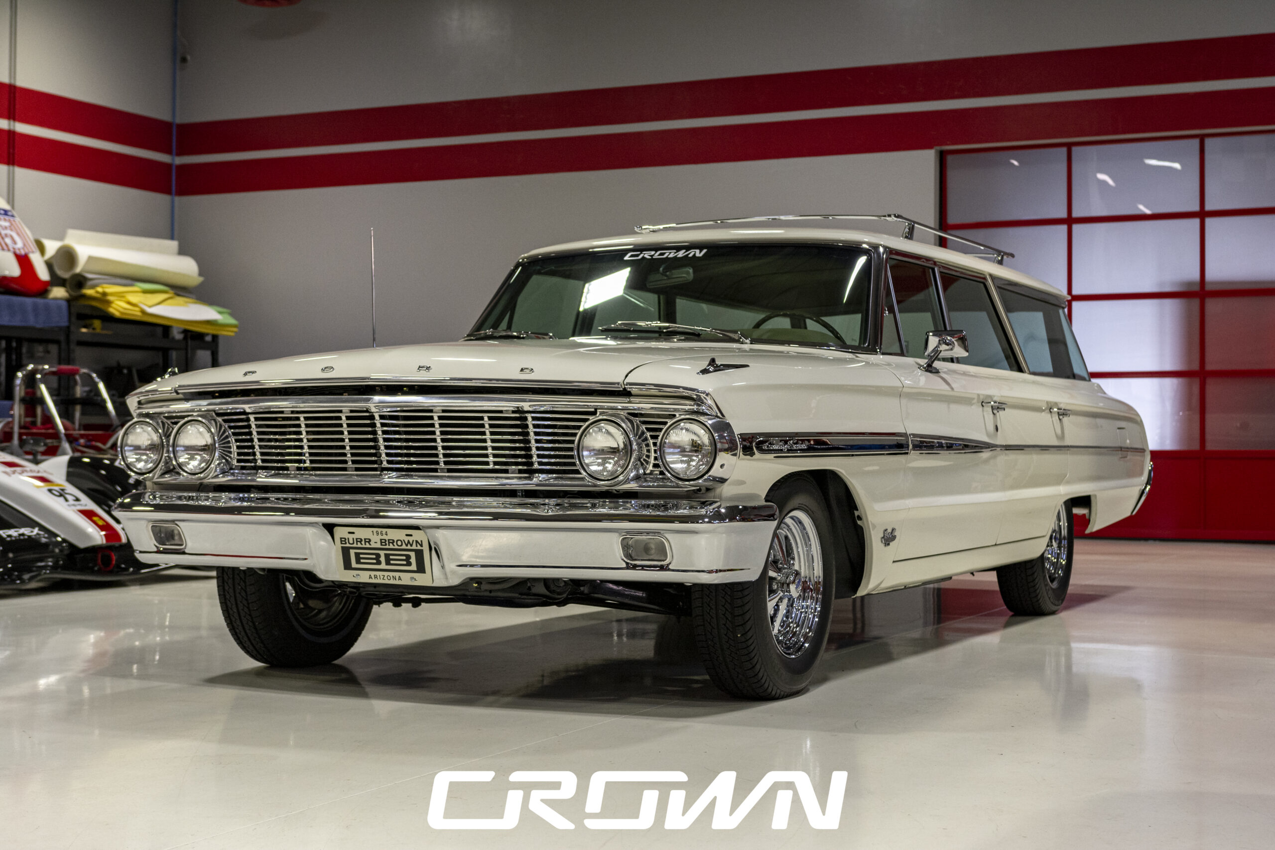 1964 Ford Country Sedan Wagon Restoration