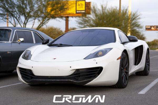White McLaren Tucson Arizona