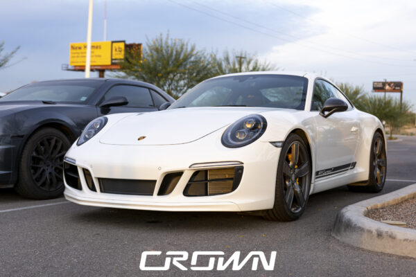 Porsche 911 Carrera T at Cars and Coffee and Clubs in Tucson