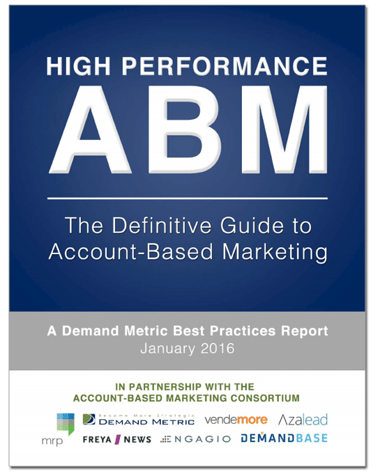 <h1>The Definitive Guide To High-Performance ABM</h1>