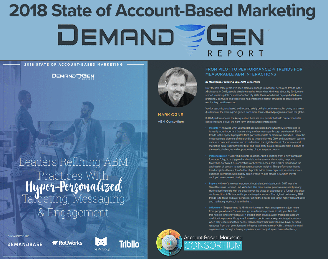 <h1>2018 State of Account Based Marketing</h1>