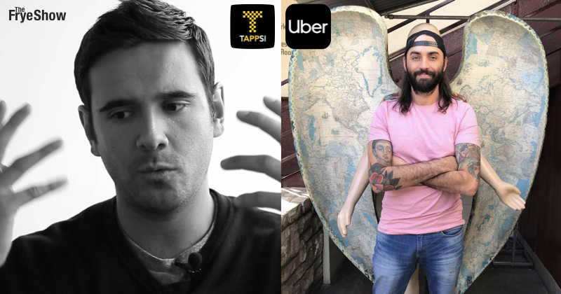 Andrés Gutiérrez & Carlos Ángel Podcast sobre Uber & Tappsi