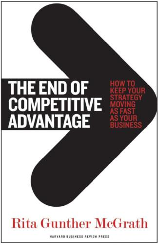 The End of the Competitive Advantage