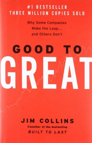 From Good to Great