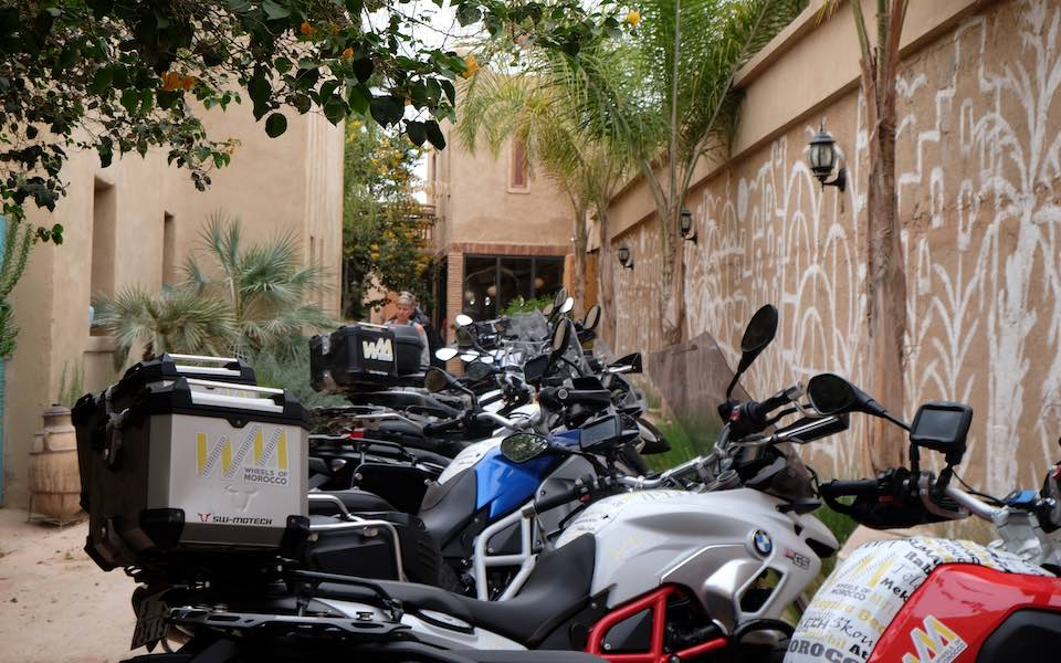 Motorbike touring in Morocco