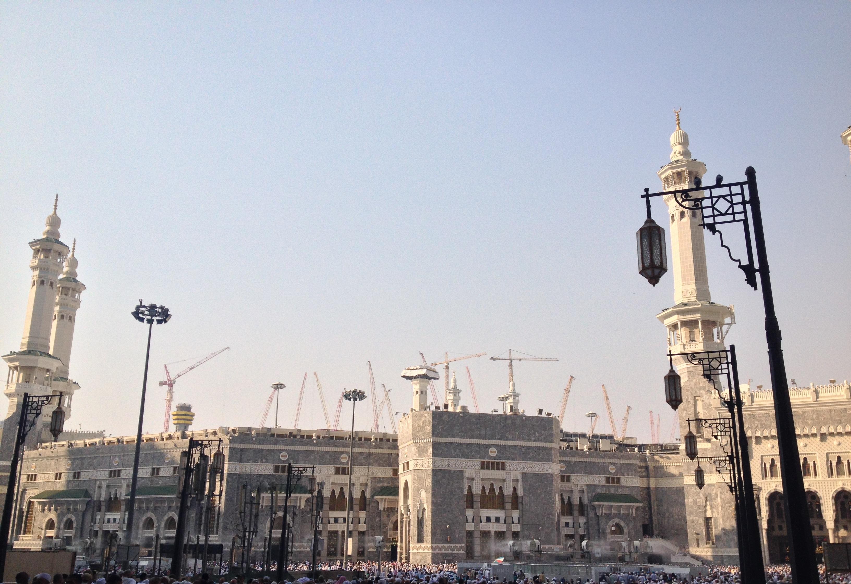 Masjid e Haram Construction 2