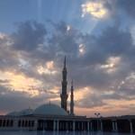 Masjid e Nabvi Roof Morning