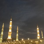 Masjid e Nabvi Roof Night 1