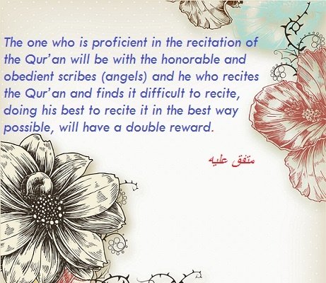 Learn Quran Kids - Hadith - Reward of reading Quran
