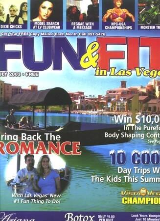 Fun & Fit Magazine Cover