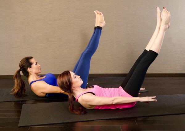 Nina Waldman Teaching At Body In Mind Pilates Studio